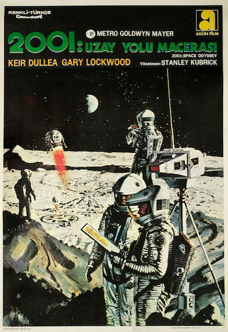 "K12492 Turkish poster for ""2001: A Space Odyssey."""