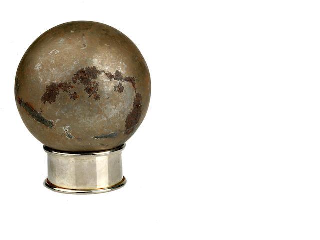 K13029 3-inch diameter Campo del Cielo meteorite sphere