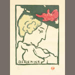 Louis Valtat, Berenice, 1900-10, color woodcut, edition 39/50, approx. 22 x 16 inches