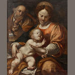 Italian School, 18th Century The Madonna and child 31 x 25