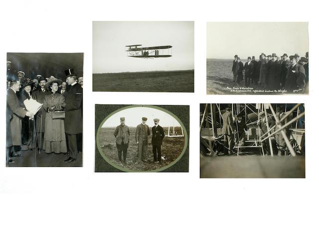 Wright family at Pau, January-March 1909