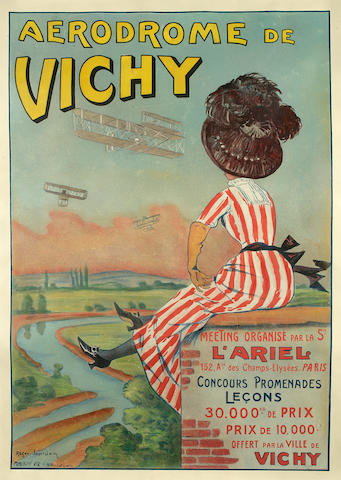 The First French National Air Meet poster