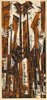 Werner Drewes (American, 1899-1985); Woodcuts; (6)