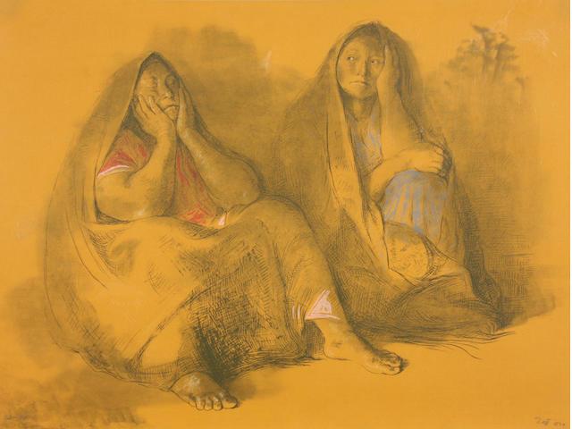Francisco Zúñiga (Mexican, 1912-1998); Madre e Hija;