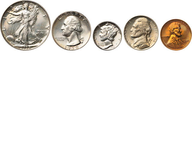 1938 Proof Set