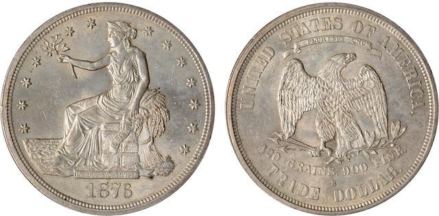1876-S Trade $1