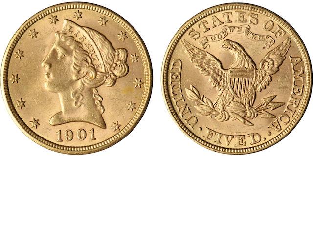 1901 $5