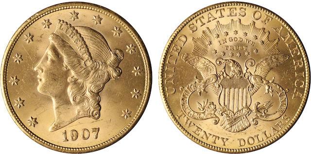 1907 Liberty $20