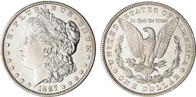 1887-S $1