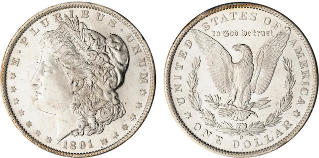 1891-O $1