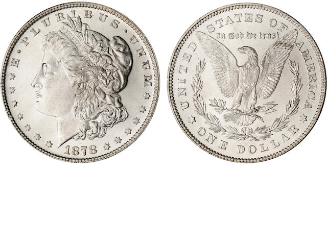 1878 7/8 Tailfeathers (Weak) $1