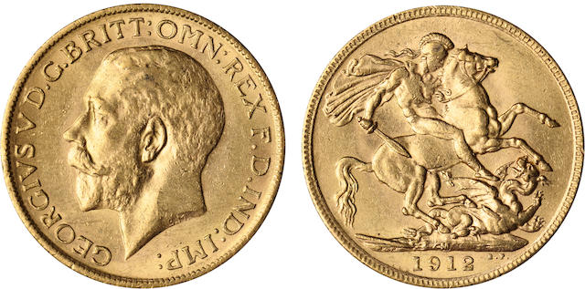 Australia, George V, Sovereign, 1912-M