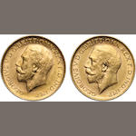 Australia, George V, Sovereigns, 1912-P (2)