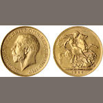 Australia, George V, Sovereign, 1925-M