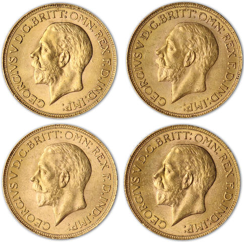 South Africa, George V, Sovereigns, 1932-SA (4)