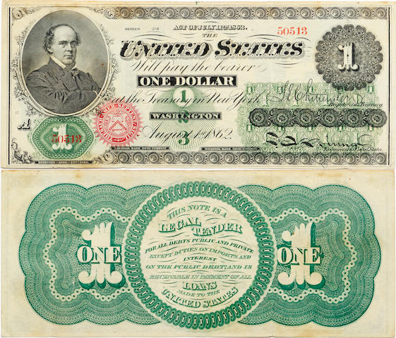 Fr.16 $1 Legal Tender Note 1862
