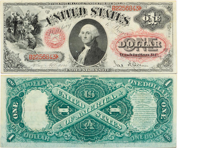Fr.27 $1 Legal Tender Note 1878
