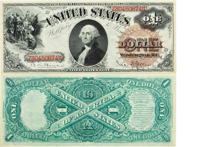 Fr. 29 $1 Legal Tender Note 1880