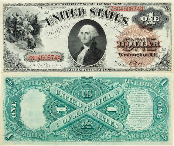 Fr. 29 $1 Legal Tender Note 1880