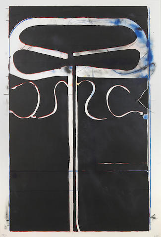 Richard Diebenkorn (American, 1922-1993); Untitled, Club/Spade Group, from Eight by Eight to Celebrate the Temporary Contemporary;