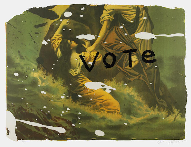 Julian Schnabel (American, born 1951); Vote;