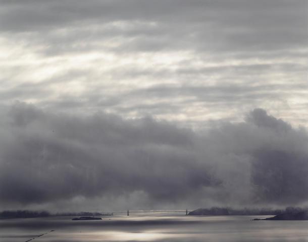 Richard Misrach (American, born 1949); Golden Gate Bridge,  4:45pm;