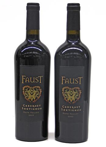 Faust Cabernet Sauvignon 2003 (9)