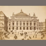 PARIS—PHOTOGRAPHY. Album containing 24 photographs, albumen prints,