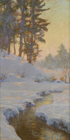 Walter Launt Palmer (American, 1854-1932) The Flykill sight 30 x 16in