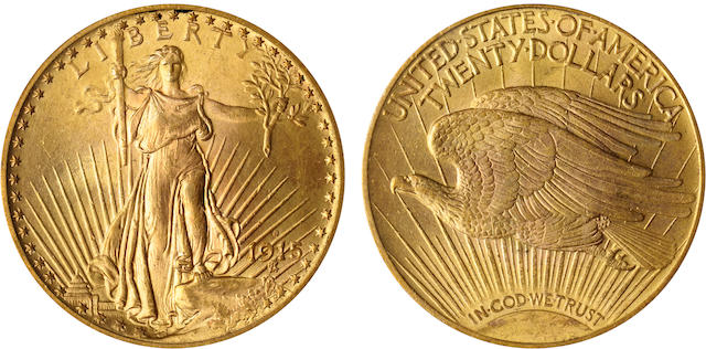 1915-S $20 MS66 PCGS