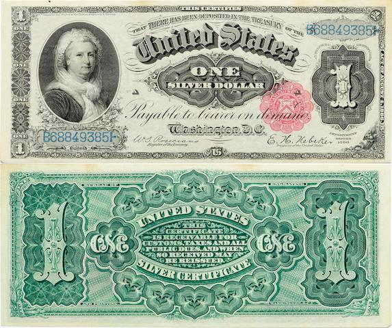 Fr. 221 $1 Silver Certificate 1886