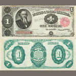 Fr. 351 $1 Treasury Note 1891