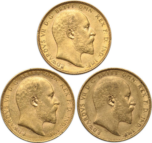Australia, Edward VII, Sovereigns, 1902-M (3)