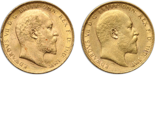 Australia, Edward VII, Sovereigns, 1904-M (2)