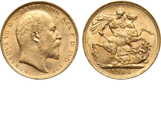 Australia, Edward VII, Sovereign, 1906-M