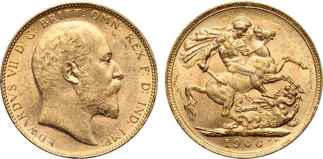 Australia, Edward VII, Sovereign, 1906-M