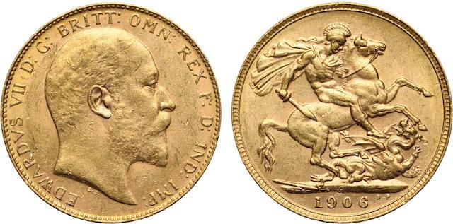 Australia, Edward VII, Sovereign, 1906-P