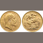 Australia, Edward VII, Sovereign, 1906-P