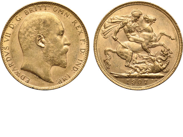 Australia, Edward VII, Sovereign, 1907-P