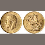 Canada, George V, Sovereign, 1911-C