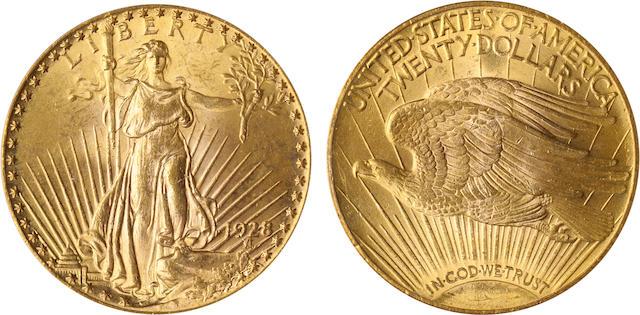 1928 $20 MS63+ PCGS