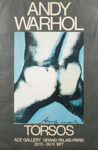 After Andy Warhol (American, 1928-1987); Torsos;
