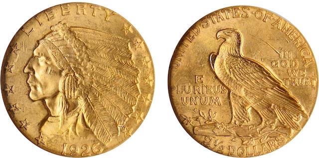 1926 $2.5 MS64 NGC