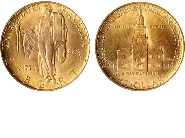 1926 Sesquicentennial $2.5 MS65 PCGS