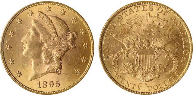 1895-S $20 MS63 NGC