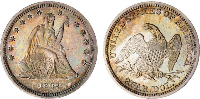 1862 25C Proof