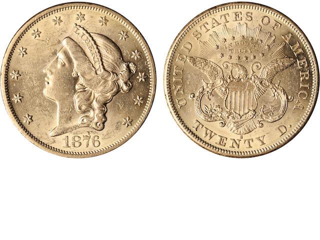 1876-S $20