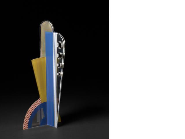 Roy Lichtenstein (American, 1923-1997); Modern Sculpture with Apertures;