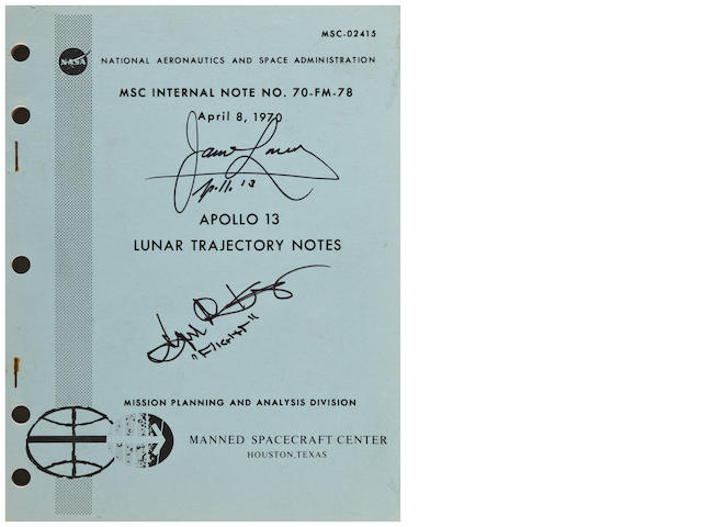 LUNAR TRAJECTORY NOTES—AN ABORTED MISSION. Apollo 13 Lunar Trajectory Notes. MSC Internal Note No. 70-FM-78. Houston, TX: NASA/MSC, April 8, 1970.