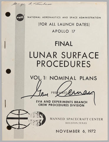 THE FINAL LUNAR SURFACE PROCEDURES. Apollo 17 Final Lunar Surface Procedures. Houston, TX: NASA/MSC, November 6-December 1, 1972.